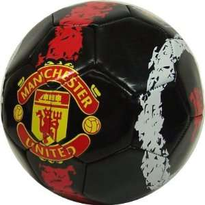 MANCHESTER UNITED OFFICIAL LOGO SOCCER BALL Sports