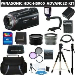 Camcorder (Black) + 16GB Professional Accessory Kit