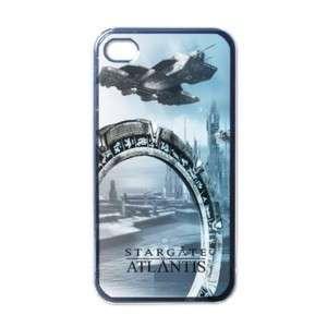 NEW iPhone 4 Hard Case Black stargate SG atlantis
