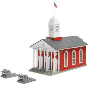 MPR183 HO County Court House Building Kit HO Model Powe