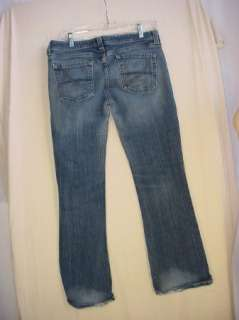 Junior Womens Boot Cut Jeans   size 13S   meas. 34 x 31