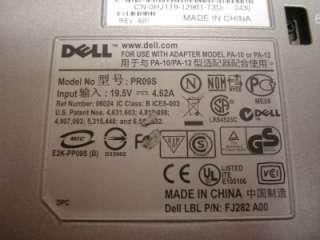 10) Dell PR09S Docking Stations with DVD/CD RW Drive
