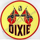 DIXIE GASOLINE 12 VINYL OLD GAS & OIL PUMP DECAL