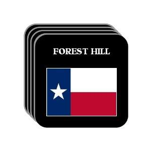 US State Flag   FOREST HILL, Texas (TX) Set of 4 Mini