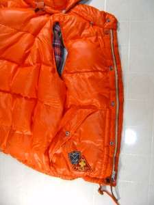 POLO RALPH LAUREN SKI HOODIE 80 DOWN VEST CLUB JACKET M
