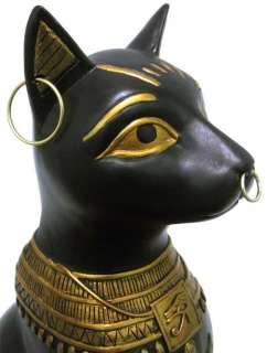 Egyptian Bastet Cat Statue Deity Sun Goddess Bast