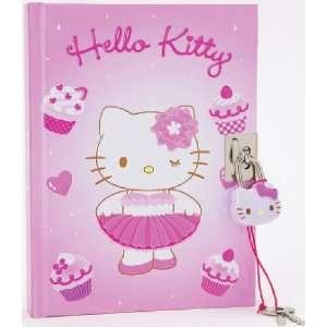 Hello Kitty Pink Tutu   Locking Diary Toys & Games