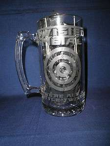 Twisted Metal game Beer Stein HUGE 27OZ. STEIN,PS1,PS2,PS3, gaming