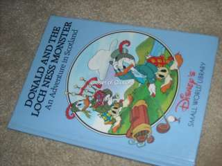 Disneys SMALL WORLD LiBRARY Country Hardcover Books