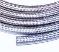 STAINLESS STEEL BRAIDED #8 A/C HOSE HOT ROD AIR