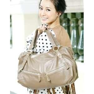 100% Real Genuine Leather Purse Hobo Shoulder Bag Handbag Tote Satchel