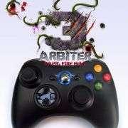 Arbiter 3 Rapid Fire Hell Xbox 360 Wireless Controller (Blue Storm