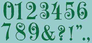 ENGLISH IVY  207 MACHINE FONT EMBROIDERY DESIGNS (AzEB)