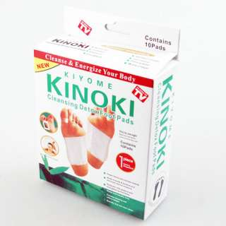 KINOKI Cleaning detox foot pads x10 work when you sleep