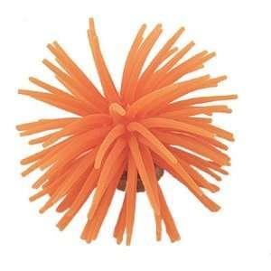Orange Silicone Artificial Coral for Fish Tank Aquarium