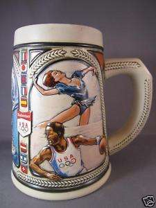 BUDWEISER 1992 US OLYMPIC TEAM STEIN SPORTS COLLECTIBLE