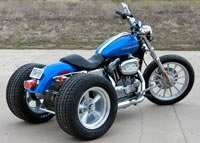 sportster with frankenstein trike kit
