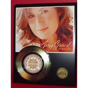 Amy Grant 24kt Gold Record LTD Edition Display ***FREE