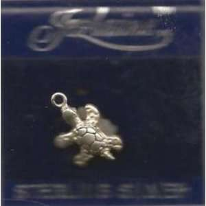 Jezlaine Sterling Silver Sea Turtle Charm