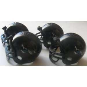 NFL Football Mini Helmets Jacksonville Jaguars Vending Toys Pack of 4