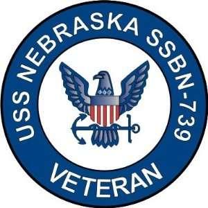 US Navy USS Nebraska SSBN 739 Ship Veteran Decal Sticker 5