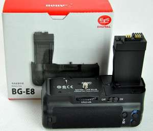 E8 Multi Power Battery Pack Grip For Canon EOS 500D 600D T2i Kiss X4