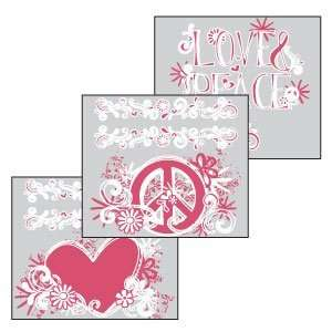 Scentsy Peace Sign White Scentsy DIY Theme Pack