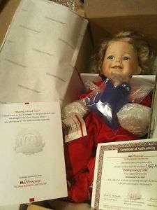 Ashton Drake McMemories McDonalds Porcelain Doll 1996 Sharing A Good