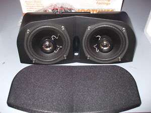 HOGTUNES MSA 1 MEMPHIS SHADES BATWING FAIRING SPEAKERS