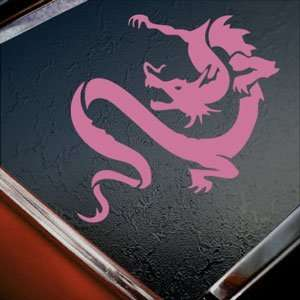 Chinese Dragon Pink Decal Car Truck Bumper Window Pink
