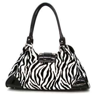 Rhinestone Buckle Shoulder Bag Hobo Satchel Tote Purse Handbag