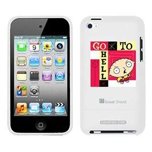 Stewie Griffin on iPod Touch 4g Greatshield Case: MP3