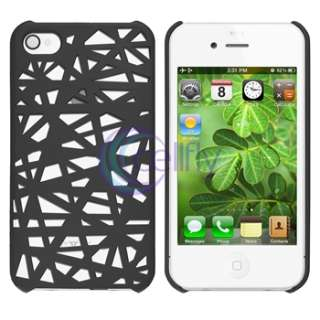 Smoke Bird Nest Rear Case+Privacy Filter Screen Protector For Apple