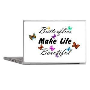 Laptop Notebook 15 Skin Cover Butterflies Make Life