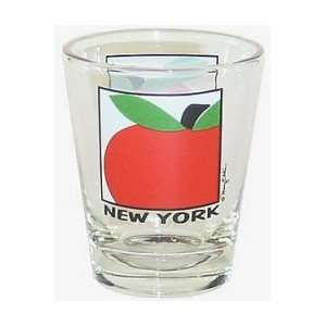 com New York Shot Glass   Apple, New York Shot Glasses, New York City