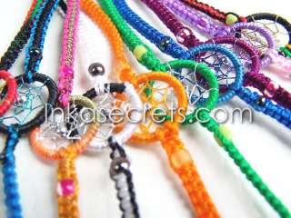 100 Dreamcatcher Friendship Bracelets Mixed Colours