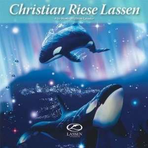 Christian Riese Lassen 2012 Mini Wall Calendar: Office Products