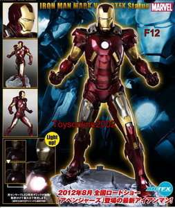 The Avengers Movie ARTFX Ironman Iron man Mark VII PVC Figure