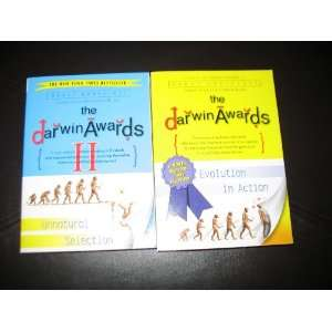 2 Book Set By Wendy Northcutt The Darwin Awards~ Evolution