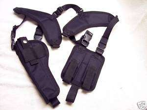LEFT SHOULDER HOLSTER Ruger Mark III Hunter 22/45 6 7/8