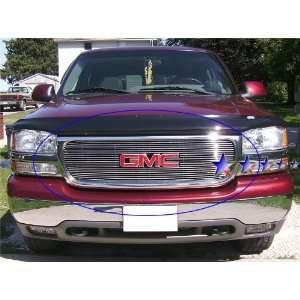 99 02 01 00 GMC Sierra Yukon Denali Billet Grille Overlay Automotive