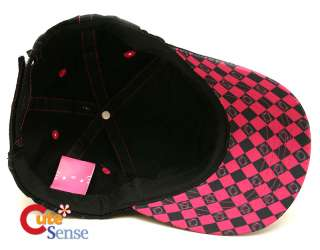 Sanrio Hello Kitty Baseball Cap / Hat Black w/ Pink Bow