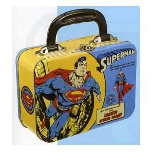 SUPERMAN Superhero DC Comics Comic LUNCH BOX Lunchbox Tin Tote #2