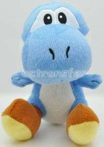 Super Mario YOSHI (Blue) 7 Plush Doll Soft Toy/MT107