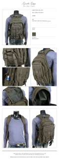 NEW VINTAGE LOOK TRAVELING OUTDOOR BACKPACK MILITARY BAG MP001 1 KHAKI