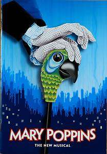 MARY POPPINS BWAY SOUVENIR PROGRAM   ASHLEY BROWN