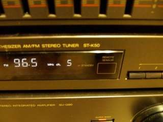 G90 Amplifier ST K50 Tuner SH 8017 Equalizer Stereo System Beautiful