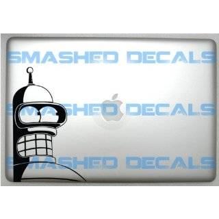Futurama Bender Prison Mugshot Funny Vinyl Decal Bumper