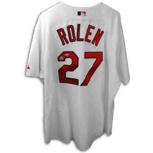 Scott Rolen St. Louis Cardinals Autographed White Cardinals Jersey