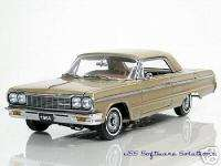 1964 Chevy SS Impala Coupe in Saddle Tan by WCPD 1:24